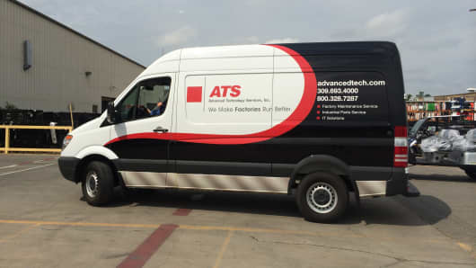 ATS mobile unit.